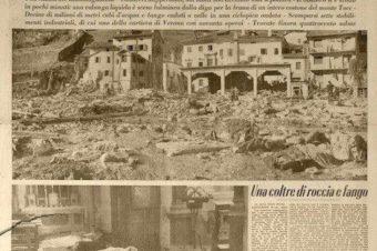 Tragedia del Vajont, 53 anni dopo