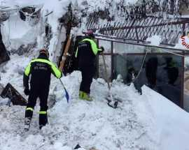 Senza tregua: il terremoto, la neve, la slavina