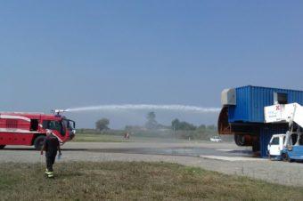14 settembre 2018 – Esercitazione presso l'aeroporto Marconi