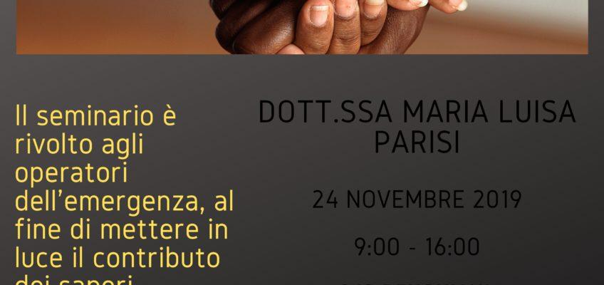 PxP E-R in formazione: seminario per conoscere gli aspetti antropologici del migrante